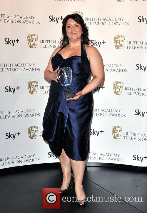 Ruth Jones ] with the Sky+ Audience Award...